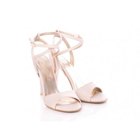 PAULA sandały na szpilce